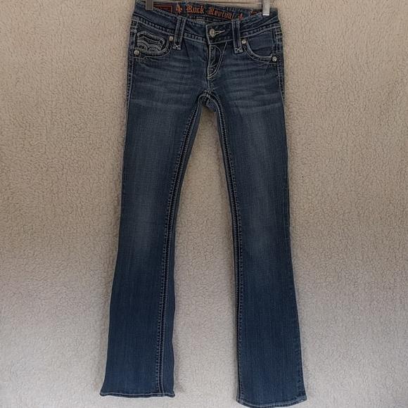 Rock Revival Denim - Rock Revival Annie Bootcut Jeans Sz 25